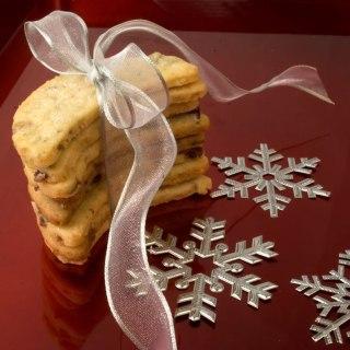 Cranberry, Pistachio & Candied Ginger Shortbread