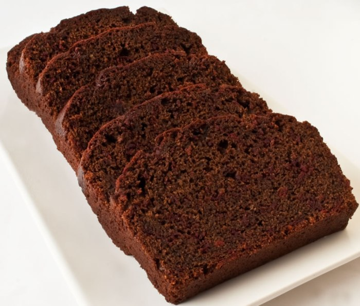 Grated Beet Chocolate Cake