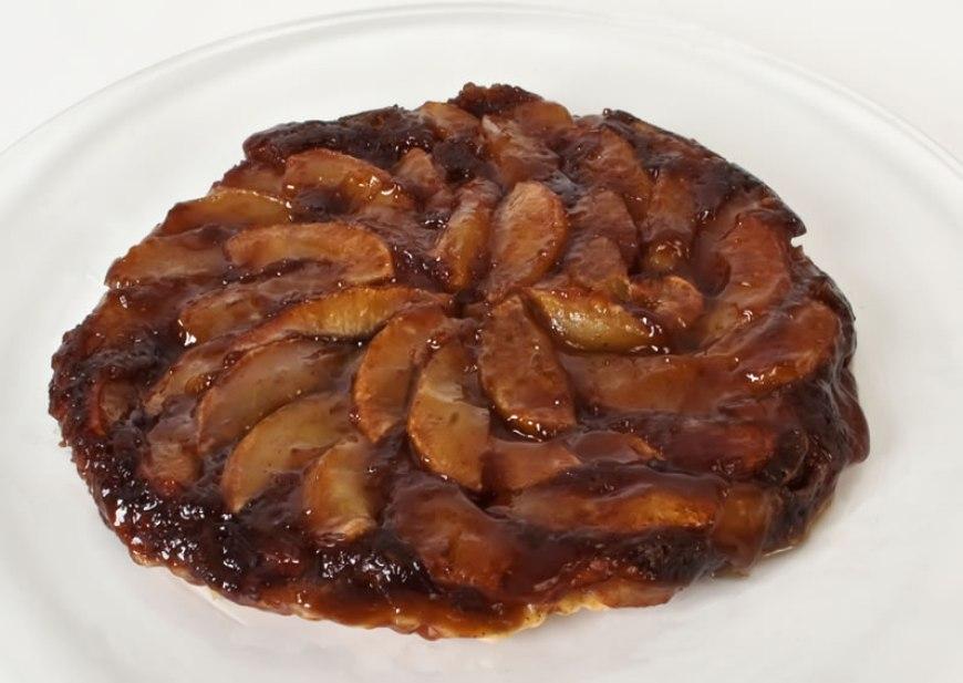 Caramelized Apple Cider Tart | LunaCafe