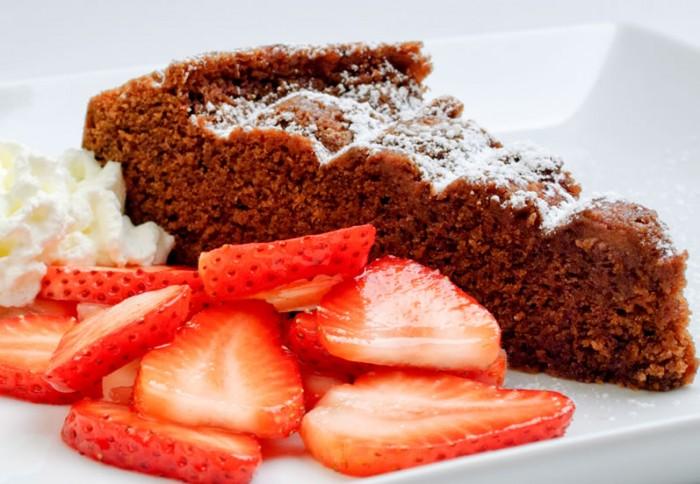 Choclate Almond Pound Cake