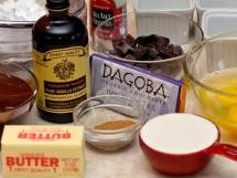 Mise-en-Place for Warm-Spiced Molten Chocolate Cake