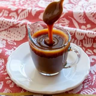 Spiced Caramel Apple Sauce
