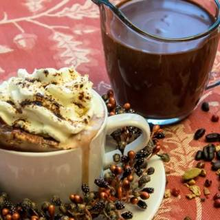 Heavenly Hot Chocolate Mix–with Seven Variations