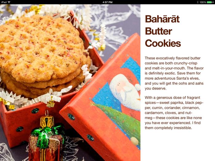 Baharat Butter Cookies