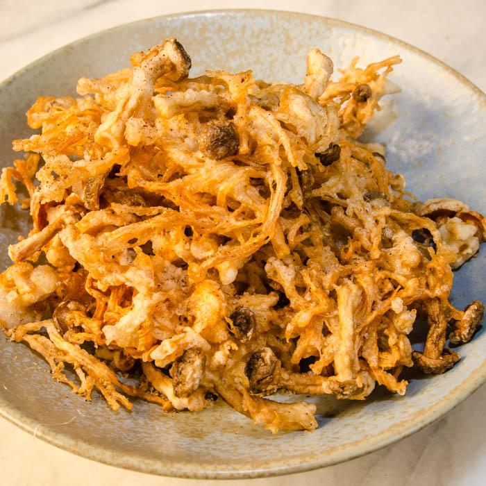 Sichuan Tempera-Fried Wild Mushrooms | LunaCafe