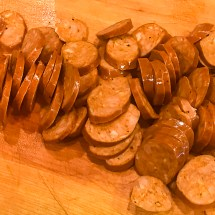 Cajun Smoked Sausage, Black Bean & Sweet Potato Soup   LunaCafe