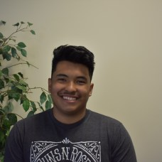 """Christian Chan, Kinesiology. """"I want to be a physical trainer and a bunch of my friends and teachers have come to CSUMB in the past to pursue that career."""""""