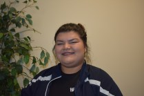 """Desiree Maldonado, Biology. """"I love the location and that the beach is so near to campus. I also have family in Salinas. In high school we had a club that toured campuses and I loved visiting this campus."""""""