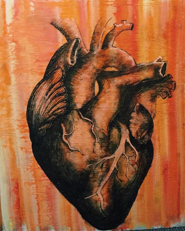Anatomy-inspired artist shares talent