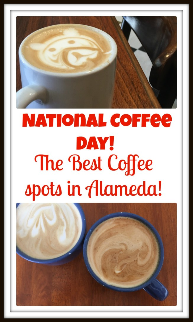 It's National Coffee Day! Celebrate by checking out these charming coffee shops in Alameda, California