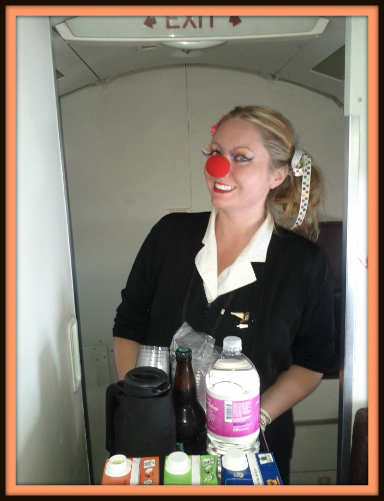 Flight Attendants on Halloween
