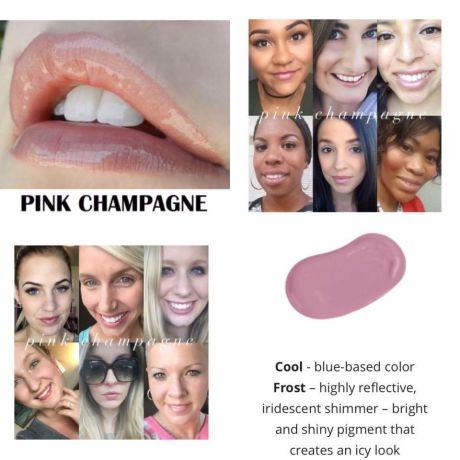 Pink Champagne Lipsense Jetsetter Glamour