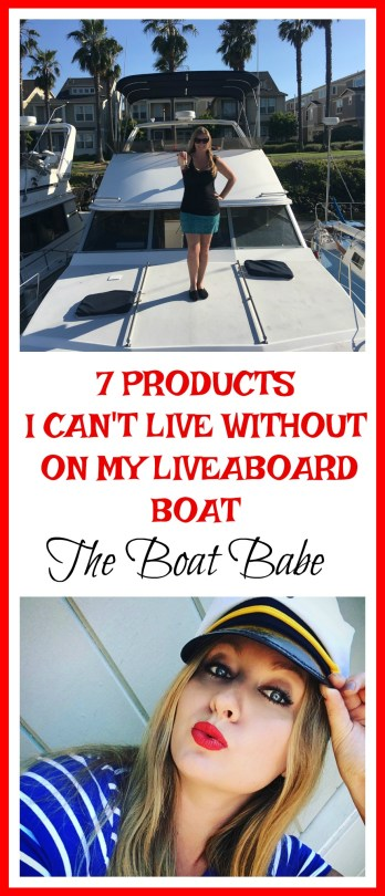 7 Products I can't Live Without on my Liveaboard Boat