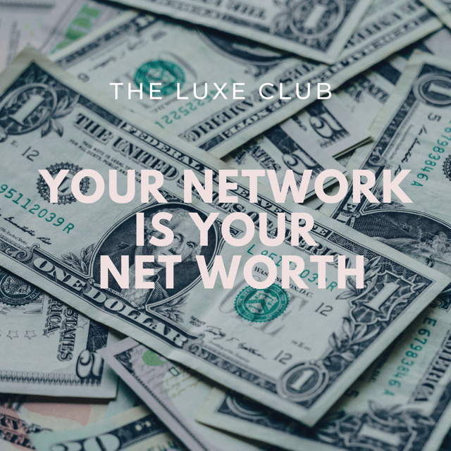 Networking with The Luxe Club