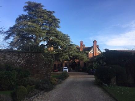 Careys Manor Hotel entrance