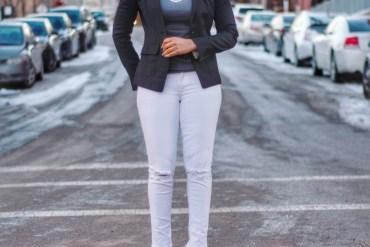everyday black blazer, black blazer and skinny jeans