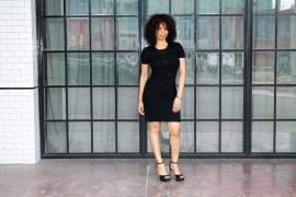 black is the new black, LBD, monochromatic black