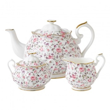 The Royal Albert Tea Set