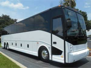56 Passenger Motor Coach for Lux Limo