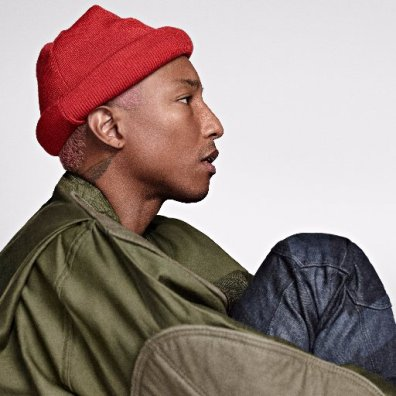 LUX Magazine pharrell My Icon great influence over the trends we follow