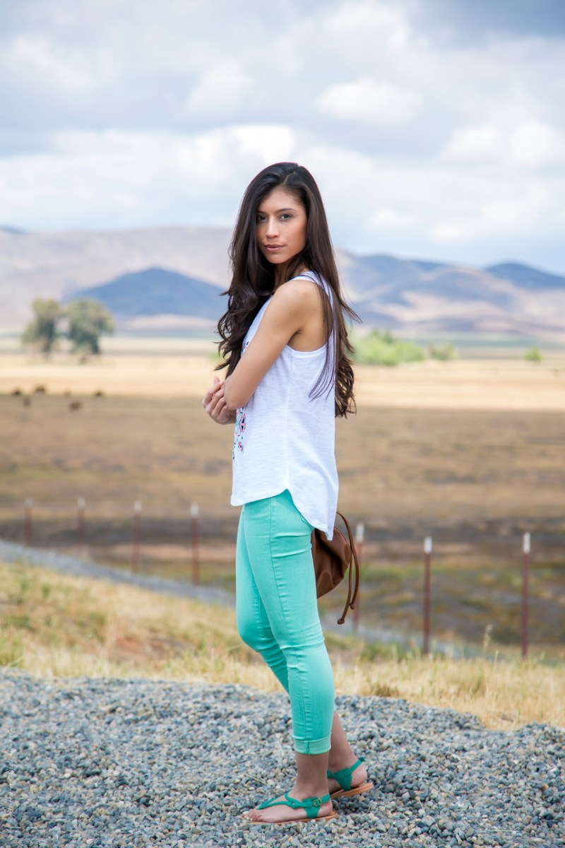 LUX Magazine how-to-wear-mint-pants new style is a direct extension of you, therefore it's always evolving