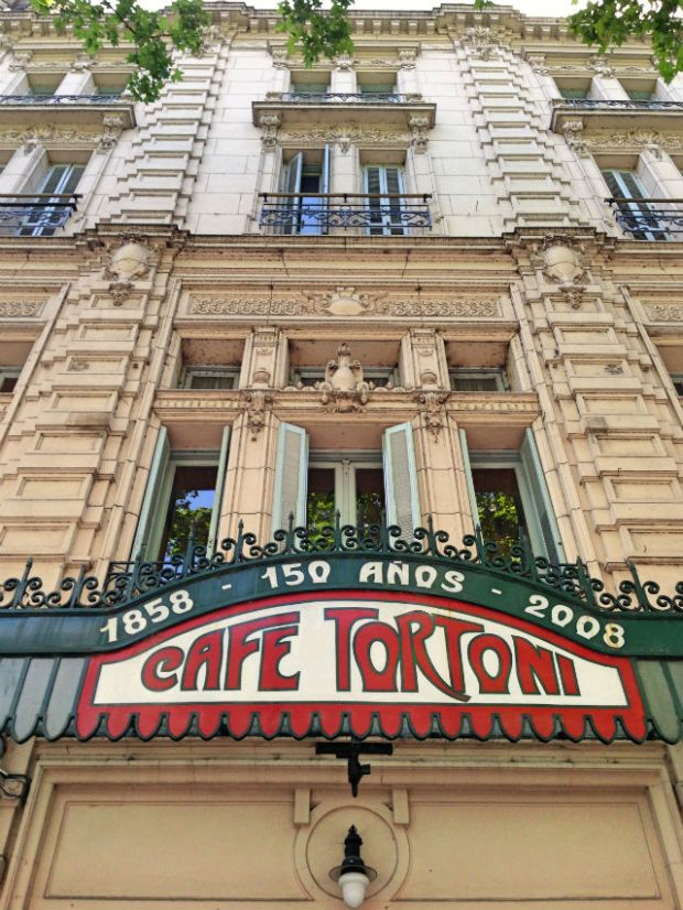 Cafe Tortoni Buenos Aires 1