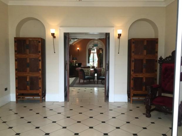 Reception at Seaham Hall Hotel
