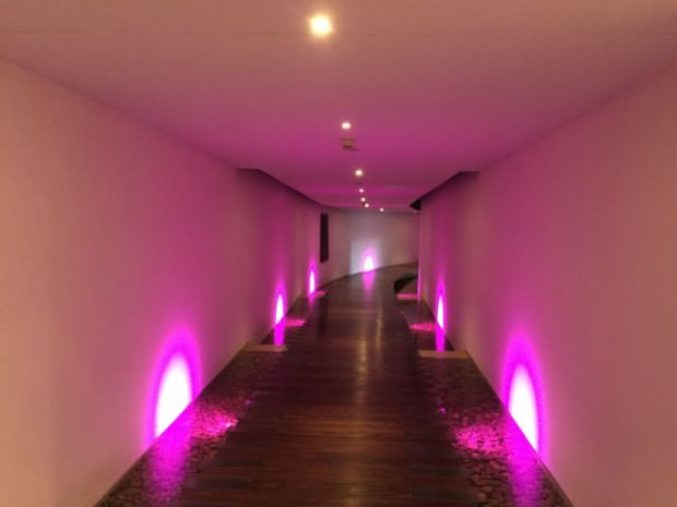 the tunnel at seaham hall spa