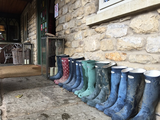 Wellies at The Pheasant