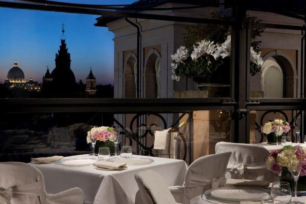 Minerva Roof Garden restaurant