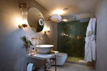 Classic Cabin Bathroom