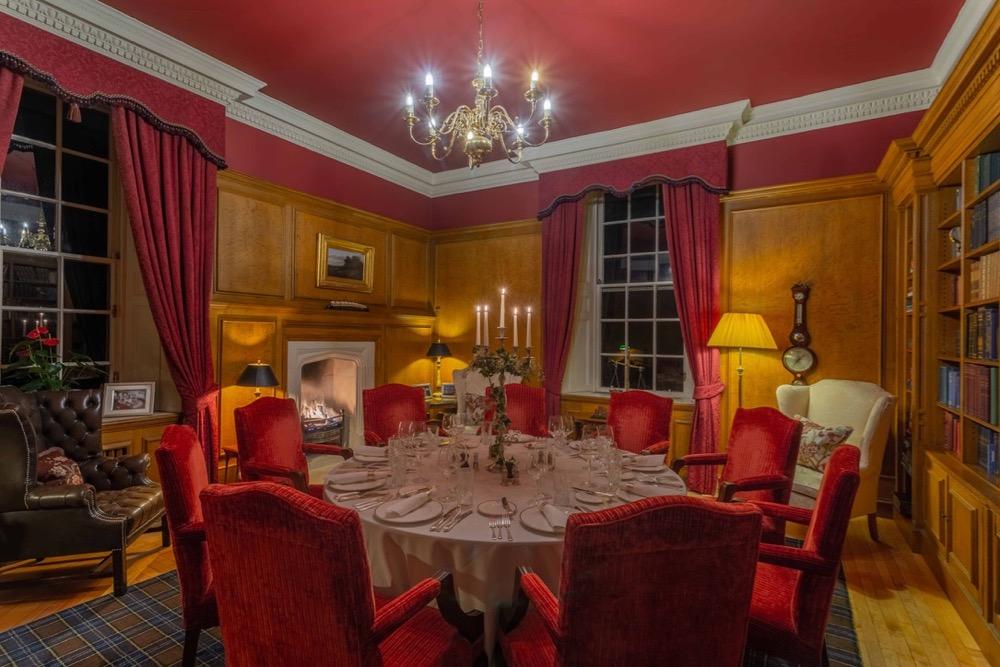 Library Dining 2 Glenapp Castle Scotland .jpg