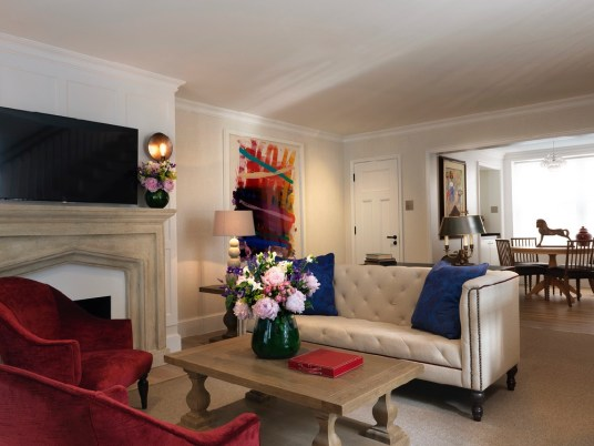 The Stafford London - The Gatehouse Living Room