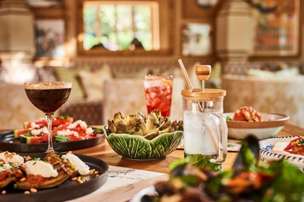 El Patio Marbella Club Restaurant Spain 6
