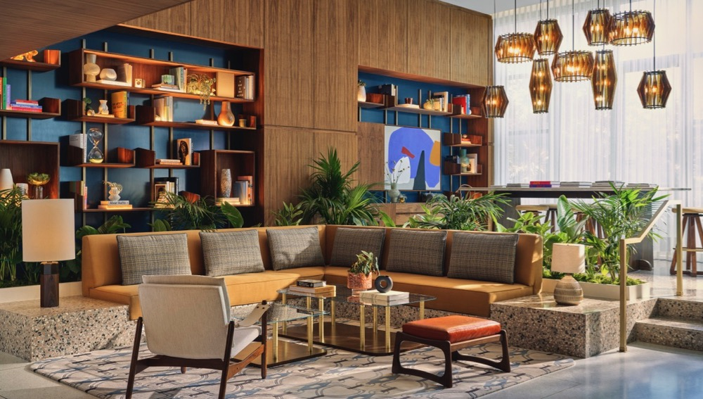 Thompson Hollywood Lobby Lounge