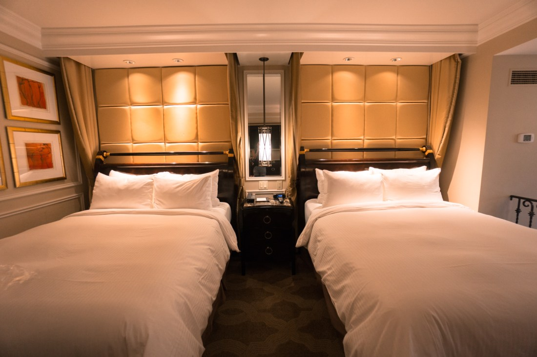 Venetian Hotel Two Queen Beds with Essential Workers Offer