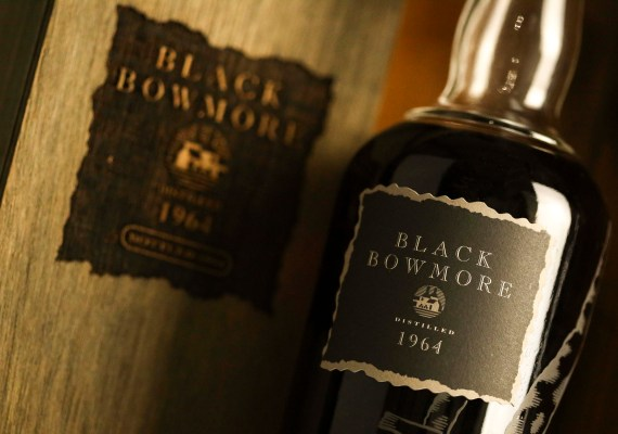 Black Bowmore single malt whisky has been bought for a record £11,900