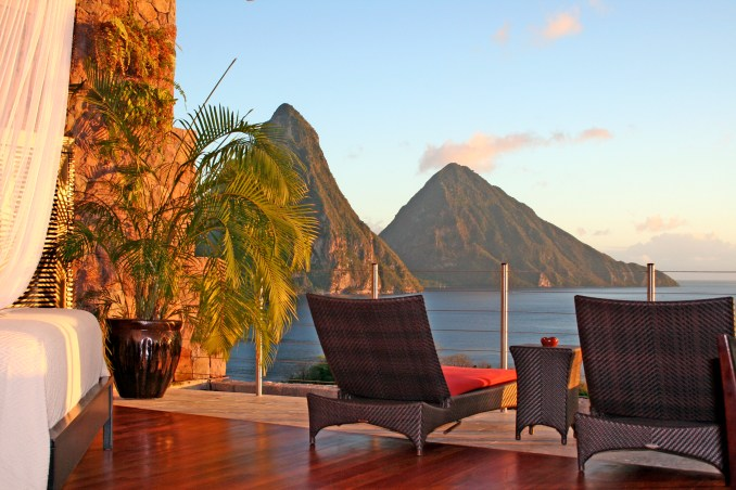 JADE MOUNTAIN SANCTUARY TERRACE
