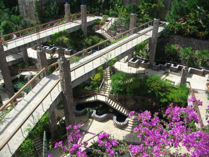 JADE MOUNTAIN - WALKWAYS TO THE SANCTUARIES