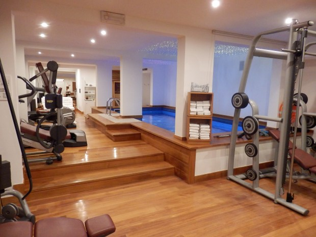 GYM AND INDOOR POOL