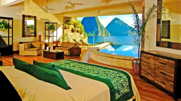 STAR SANCTUARY, JADE MOUNTAIN, ST LUCIA