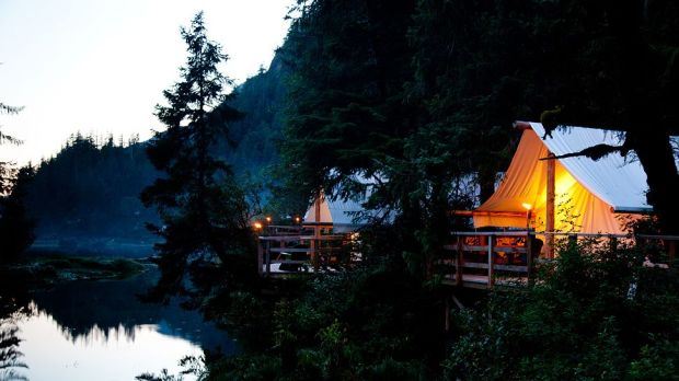 CLAYOQUOT WILDERNESS LODGE, BRITISH COLUMBIA, AUSTRALIA