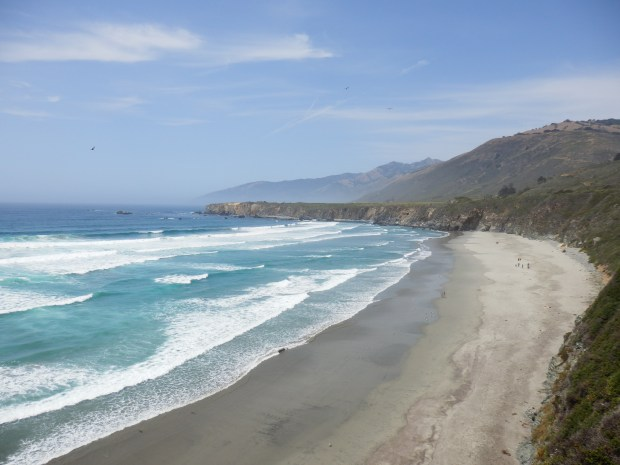 BIG SUR - SAND DOLLAR BEACH