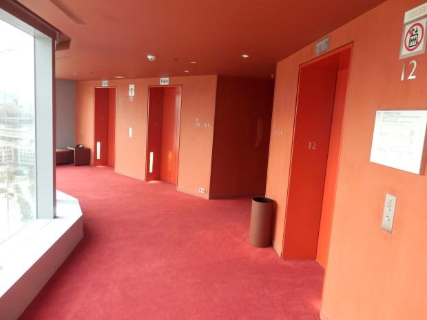 ELEVATORS TO ROOMS