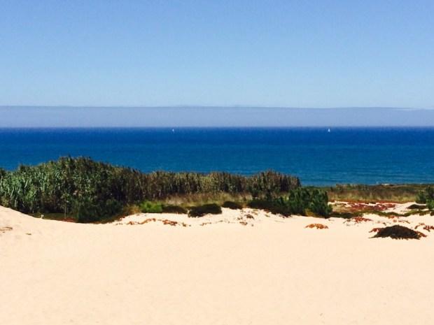 WALK THROUGH DUNES TO BEACH