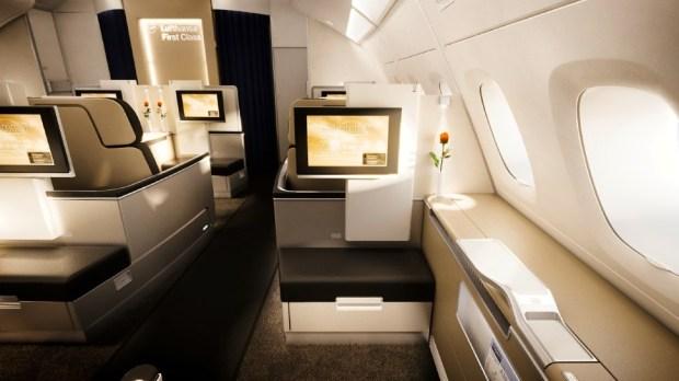 LUFTHANSA FIRST CLASS (A380)