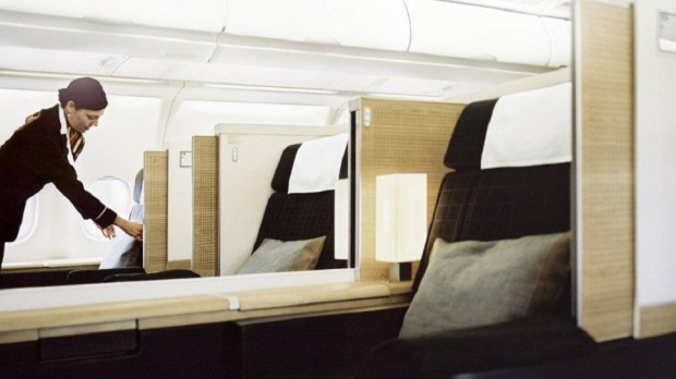SWISS INTERNATIONBAL AIR LINES FIRST CLASS