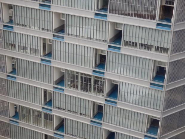 VIEW FROM ROOM: ST REGIS HOTEL NEXT DOOR