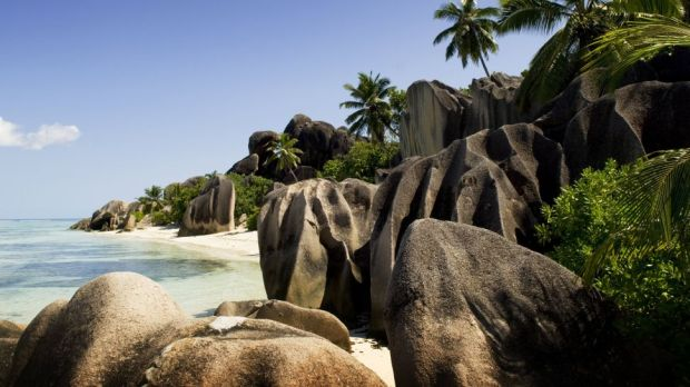 ANSE SOURCE D'ARGENT ON LA DIGUE ISLAND