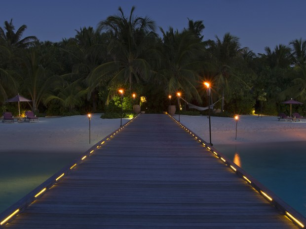 ARRIVAL JETTY AT NIGHT